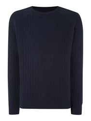 Army And Navy Paolo Crew Neck Navy