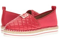 Love Moschino Superquilted Espadrille Red Women's Shoes