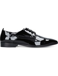 Kurt Geiger Dermot Patent Oxford Shoes Black