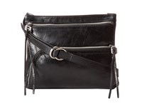 Hobo Cassie Black Vintage Leather Cross Body Handbags