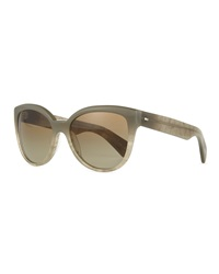 Oliver Peoples Abrie Plastic Cat Eye Sunglasses