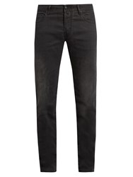 Jacob Cohen Tailored Stretch Denim Slim Leg Jeans Black