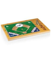 Picnic Time Los Angeles Dodgers Icon Cutting Board Burlywood