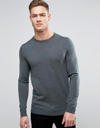 Jack And Jones Premium Crew Neck Jumper Balsam Green