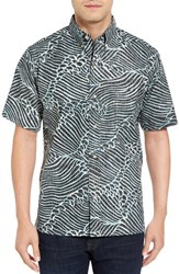 Reyn Spooner Men's Molokai Channel Classic Fit Sport Shirt