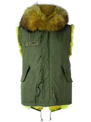 As65 Short Slim Gillet Green