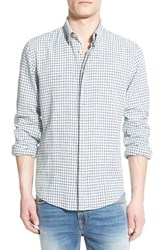 Men's Boss Orange 'Espicye' Check Linen Blend Woven Shirt