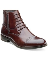 Stacy Adams Godfrey Cap Toe Boots Men's Shoes