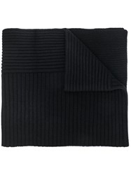 Woolrich Ribbed Knit Scarf 60