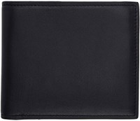 Brioni Navy Leather Wallet