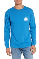 Southern Tide Brewery T Shirt Deep Water