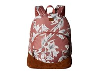 Roxy Fairness Backpack Withered Rose Lily House Backpack Bags Multi