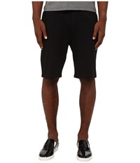 The Kooples Sport Classic Fleece Sweatshorts Black Men's Fleece