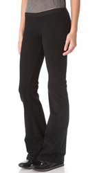 Solow Solid Foxy Flare Pants Black