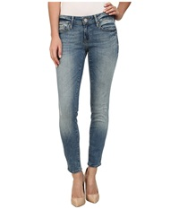 Mavi Jeans Serena Ankle Low Rise Super Skinny Ankle In Used Nolita Used Nolita Women's Jeans Blue