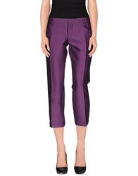 Dsquared2 Trousers Casual Trousers Women Purple