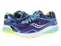 Saucony Lancer Navy Blue Citron Women's Running Shoes Multi