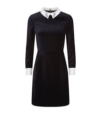 Ted Baker Cheryll Velvet Dress Female Midnight