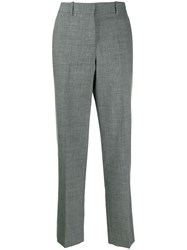 Loewe Mid Rise Tailored Trousers Grey