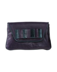 Galliano Handbags Purple