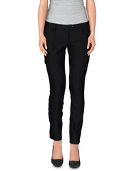 Paola Frani Casual Pants Black