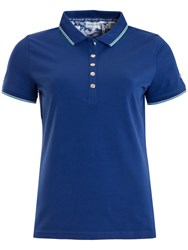 Green Lamb Patsy Jersey Club Polo Airforce Blue