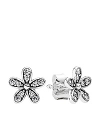 Pandora Design Pandora Earrings Sterling Silver And Cubic Zirconia Dazzling Daisy Studs