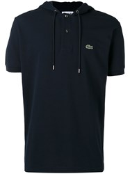 Lacoste Polo Hoodie Men Cotton 1 Blue
