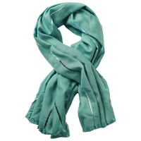 Betty Barclay Betty And Co. Fringe Edge Scarf Jade Green