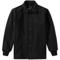 Gloverall Melton Coach Jacket Black