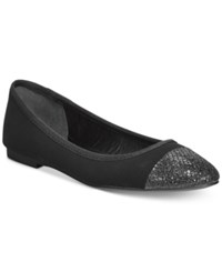 Styleandco. Style And Co. Tiffanie Flats Only At Macy's Women's Shoes Black