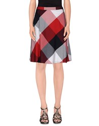 Tommy Hilfiger Skirts Knee Length Skirts Women Red
