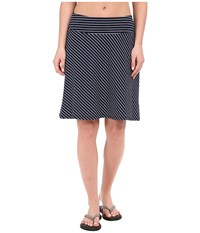 Columbia Reel Beauty Iii Skirt Collegiate Navy Mini Stripe Women's Skirt