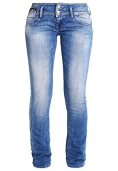 Ltb Jonquil Straight Leg Jeans Mois Wash Stone Blue Denim
