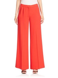 Mary Katrantzou Slick Wide Leg Wool Trousers