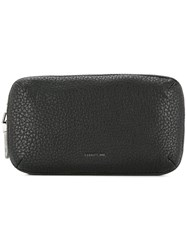 Cerruti 1881 Double Zip Clutch Bag Black