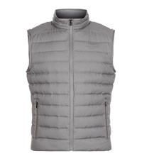 Hackett Aston Martin Tech Down Gilet Male Grey
