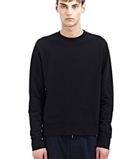 Acne Studios Cotton Casey Sweatshirt Black