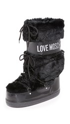Moschino Moon Boots Black