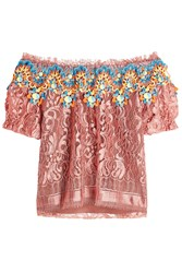 Peter Pilotto Blouse With Crochet And Lace
