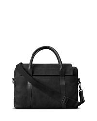 Shinola Sport Nubuck Briefcase Black