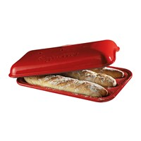Emile Henry Baguettes Mould Red