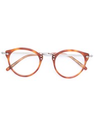 Oliver Peoples Op 505 Glasses Men Acetate Metal 47 Brown