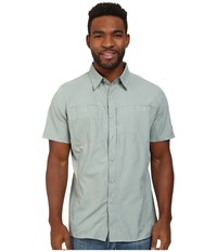 Kuhl Wunderer Ss Desert Sage Men's Short Sleeve Button Up Gray