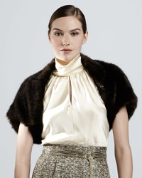 Kay Unger New York Faux Fur Bolero Women's