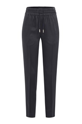 Jason Wu Tapered Harem Pants Black