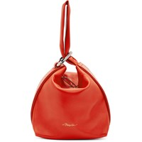 3.1 Phillip Lim Red Ines Soft Triangle Pouch