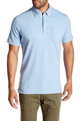 Tailorbyrd Button Down Classic Polo Blue