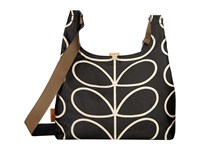 Orla Kiely Midi Sling Bag Liquorice Handbags Brown