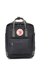 Fjall Raven Fjallraven Kanken Backpack Black Striped